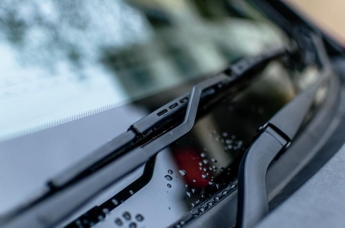 Scheibenwischanlage eines Autos