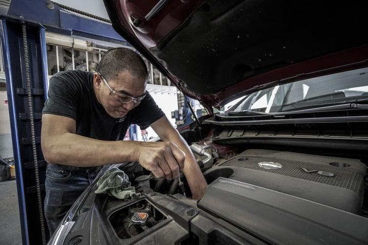 Auto springt nicht an - Reparatur