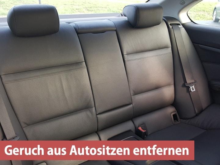 Geruch aus Autositzen entfernen