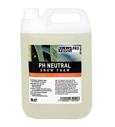 ValetPRO EC145L PH Neutral Snow Foam, 5 Liter