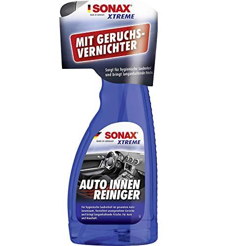 Sonax Xtreme Leder-, Cockpit-, Kunststoff-, Textil-Pflege, Auto-Reinigung, Innenraum-, Polster-, Leder-Reiniger, 500 Ml Sprühflasche, Silver, Car-Cleaner