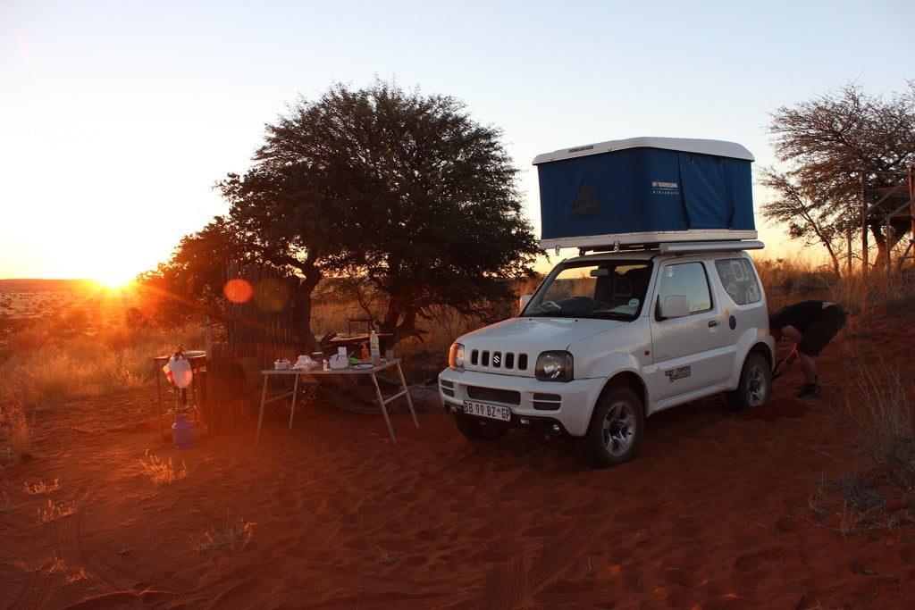Auto Camping - Dachzelt