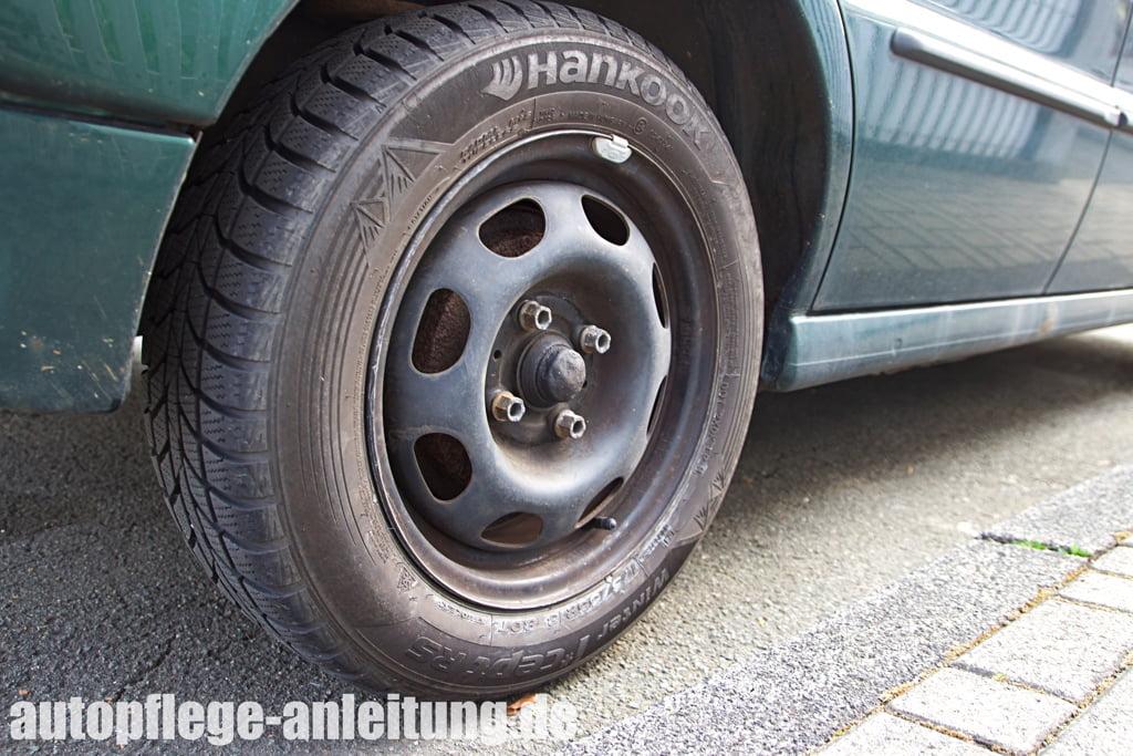 Auto: Reifen richtig lagern