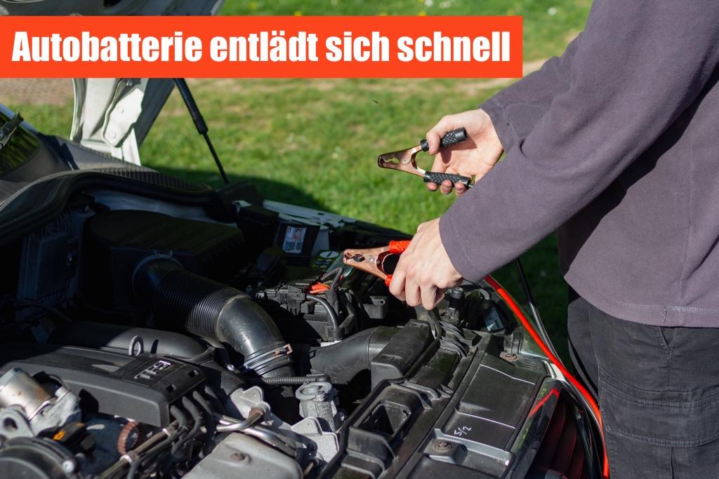 Autobatterie entlaedt sich - Ursachen & Reparatur