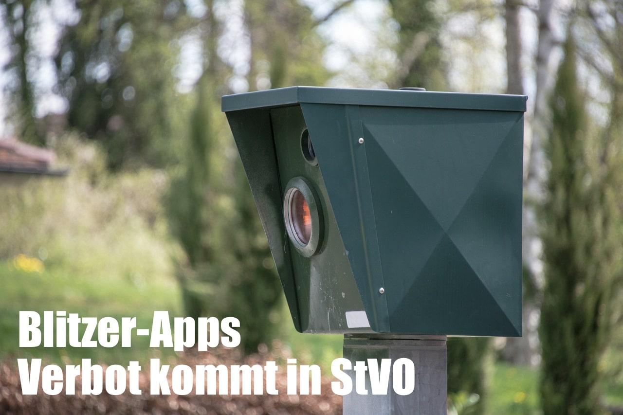 Blitzer Apps auf Smartphone - Verbot in StVO